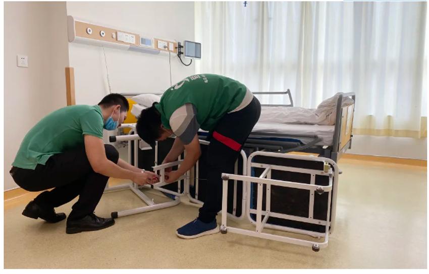 """""""佩奇""""——广东省人民医院配齐共享陪护床!配齐爱与服务!7.jpg"""